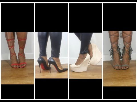 Shoes For Women With Big | Wide | Flat Feet. My shoe collection | Uk Size 8/9.