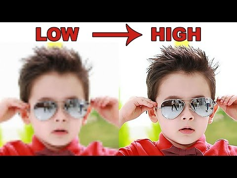 Photoshop Tutorial | How to Convert Low Resolution Pictures to High Resolution (Tutorial)