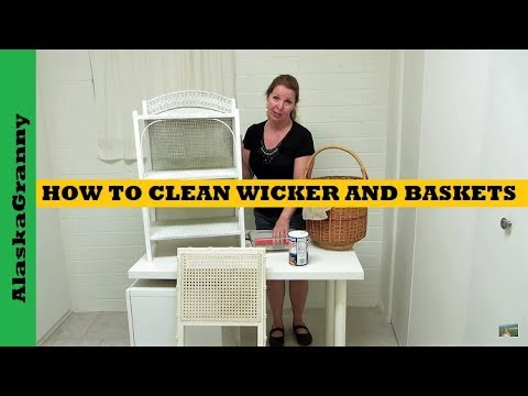 How To Clean Wicker And Baskets