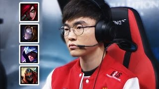Everything FAKER did at LCK Spring 2017 | #LeagueOfLegends