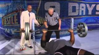 Mark Henry vs Ryback - Bench Press