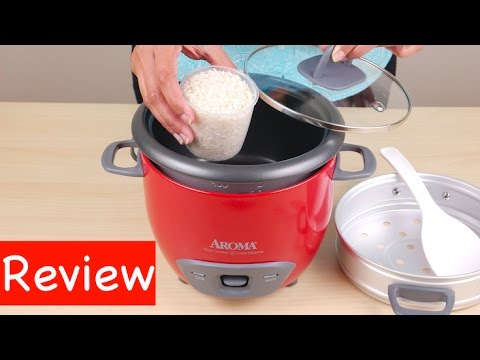 Aroma 6 cup Rice Cooker and Food Steamer Review