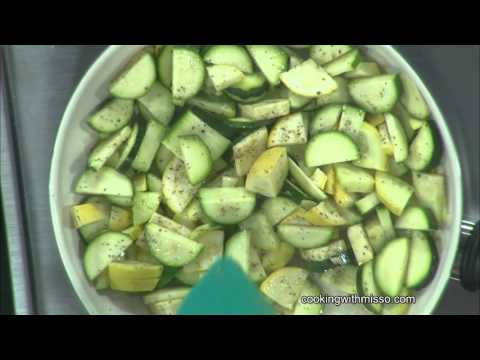 Cooking With Miss O #76 - Lemony Zucchini Squash Saute'