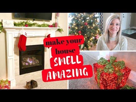 MAKE YOUR HOUSE SMELL LIKE CHRISTMAS | EASY WAYS TO MAKE YOUR HOUSE SMELL AMAZING
