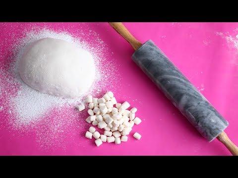3 Ingredient Marshmallow FONDANT RECIPE! 😍