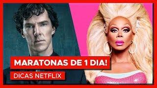 MARATONAS PRA FAZER EM 1 DIA! | Dicas Netflix #8