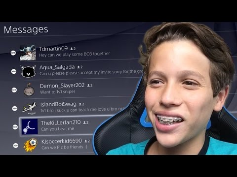 READING MY PLAYSTATION MESSAGES!!! | Vonix