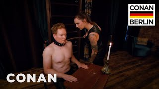 Conan Submits To A Dominatrix  - CONAN on TBS