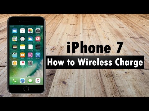 iPhone 7 (Plus)  Wireless Charging