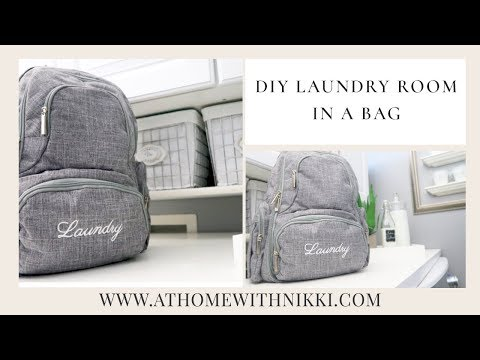 HOME & SMALL SPACE ORGANIZING | DIY Laundry Room In A Bag