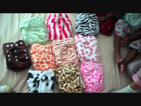 My Ebay Cloth Diapers Arrived!