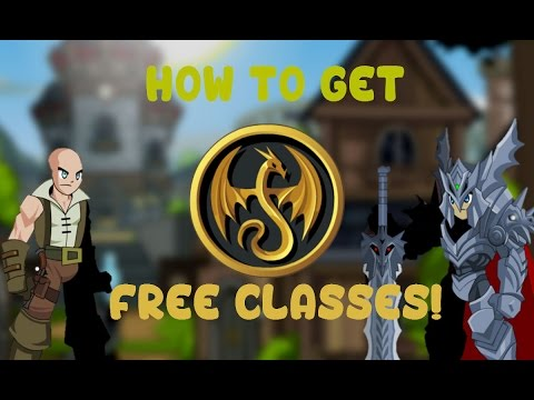 AQW : How to get Free and Cheap Classes! 2016