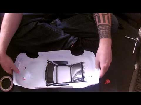 10th scale Pimpin _ How to make a rollcage for your rc body