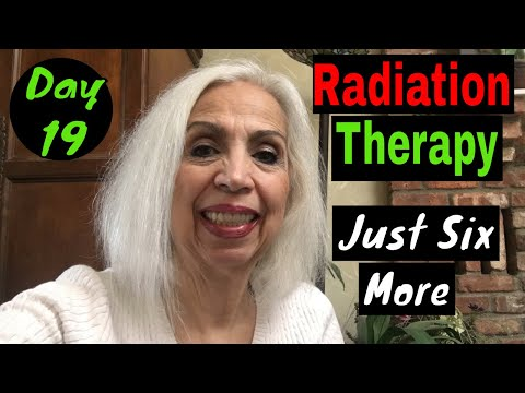 Radiation Therapy - Day 19 - Feeling Shot Out of A Cannon
