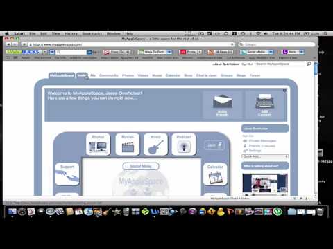 Myapplespace.com a facebook for mac users