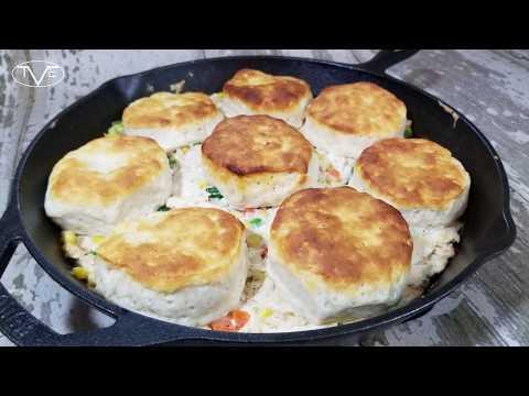 Cast Iron Skillet Chicken Pot Pie Recipe | Episode 560