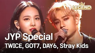 Download JYP Special - TWICE, GOT7, DAY6, Stray Kids [2018 KBS Song Festival / 2018.12.28] Video