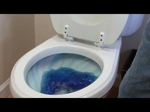 How to prevent toilet bowl rings
