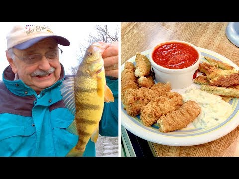 Beer Battered Fish Sticks (or, a search for perch)