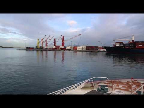 Polynésie française Moorea Ferry Papeete Moorea / French Polynesia  Ferry to Moorea