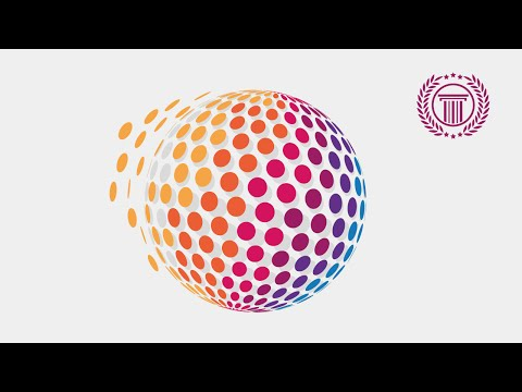 Circle Pixel Logo Design Tutorial Using 3D Revolve Effect in illustrator CS6 | No CorelDraw X6 | X7
