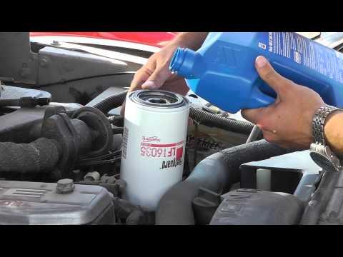 97 Dodge Cummins Oil Change