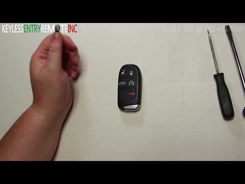 How To Replace Chrysler 300 Key Fob Battery 2011 2012 2013 2014