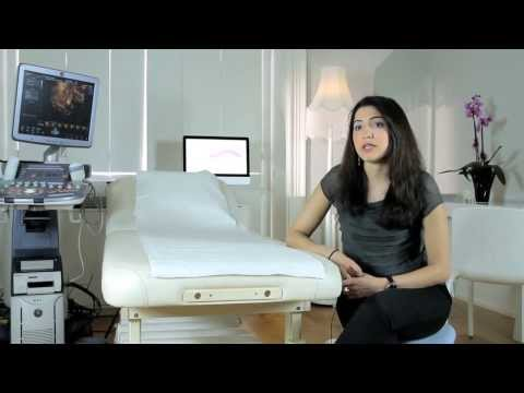 What is a sonographer looking for on a scan?