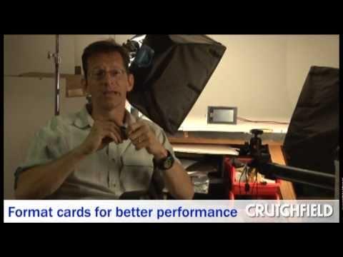 Digital Camera Memory Cards Tips and Tricks | Crutchfield Video