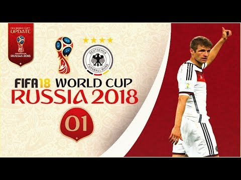 FIFA 18 World Cup - GERMANY AT RUSSIA 2018 - GROUP STAGE!! [Legendary With Sliders]