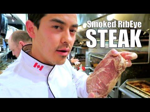 Smoked Ribeye Steak at the Chop SteakHouse- BenjiManTV