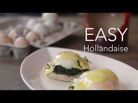 Easy Hollandaise Sauce