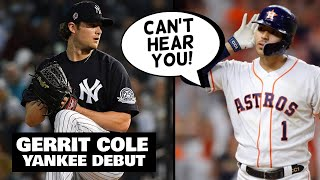 Carlos Correa BOOED, Then Trolls Fans! Gerrit Cole Yankees Debut, Jeter On Astros (MLB News)
