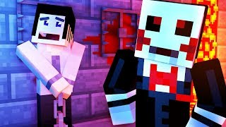 Minecraft Saw - ESCAPING JIGSAW!! | Minecraft Scary Roleplay