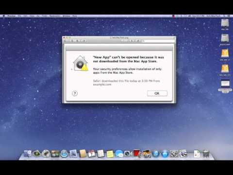 Changing Security Settings in Mountain Lion to install apps from App Store