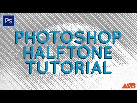 Adobe Photoshop Tutorial: How to Create Halftones