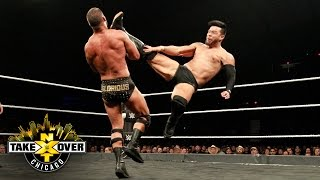 Hideo Itami kicks the gloriousness out of Roode