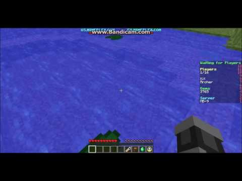 How to escape lily pads in minecraft servers