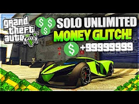 *NEW* GTA 5 Online: ''SOLO UNLIMITED MONEY GLITCH!