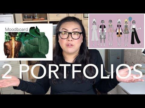Critiquing 2 Portfolios: 1 Student, 1 Pro