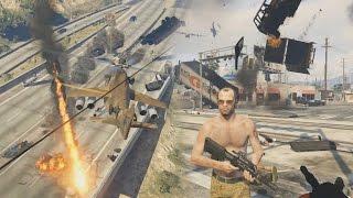 GTA V Mods : Angry Planes Ped Riot Chaos mod Videos - 9tube tv