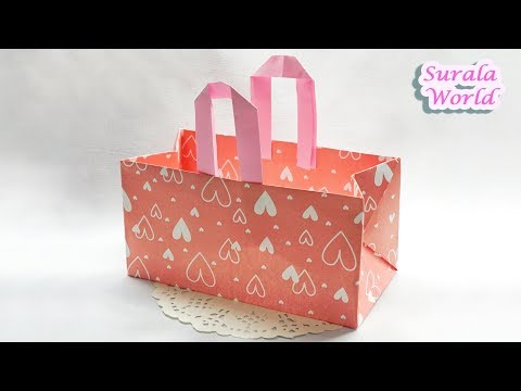 Origami - Paper Bag (DIY, Wrapping)