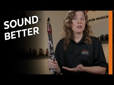 How To Correct The Most Common Clarinet Tone Mistakes | Backun Educator Series