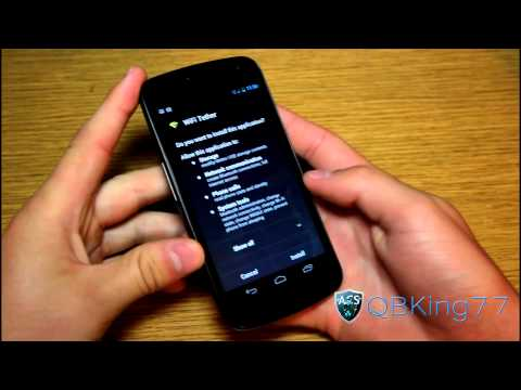 How to get Free Wifi Hotspot on the Sprint Galaxy Nexus 4G LTE