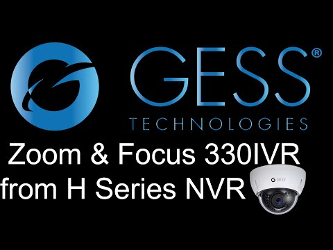 How to Zoom & Flip your GESSXHD-330IVR IP Camera from your GESS NVR