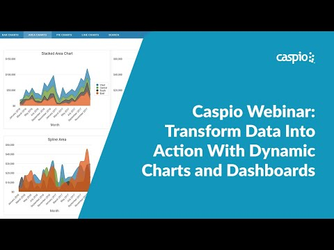 Caspio Webinar: Transform Data into Action with Dynamic Charts and Dashboards