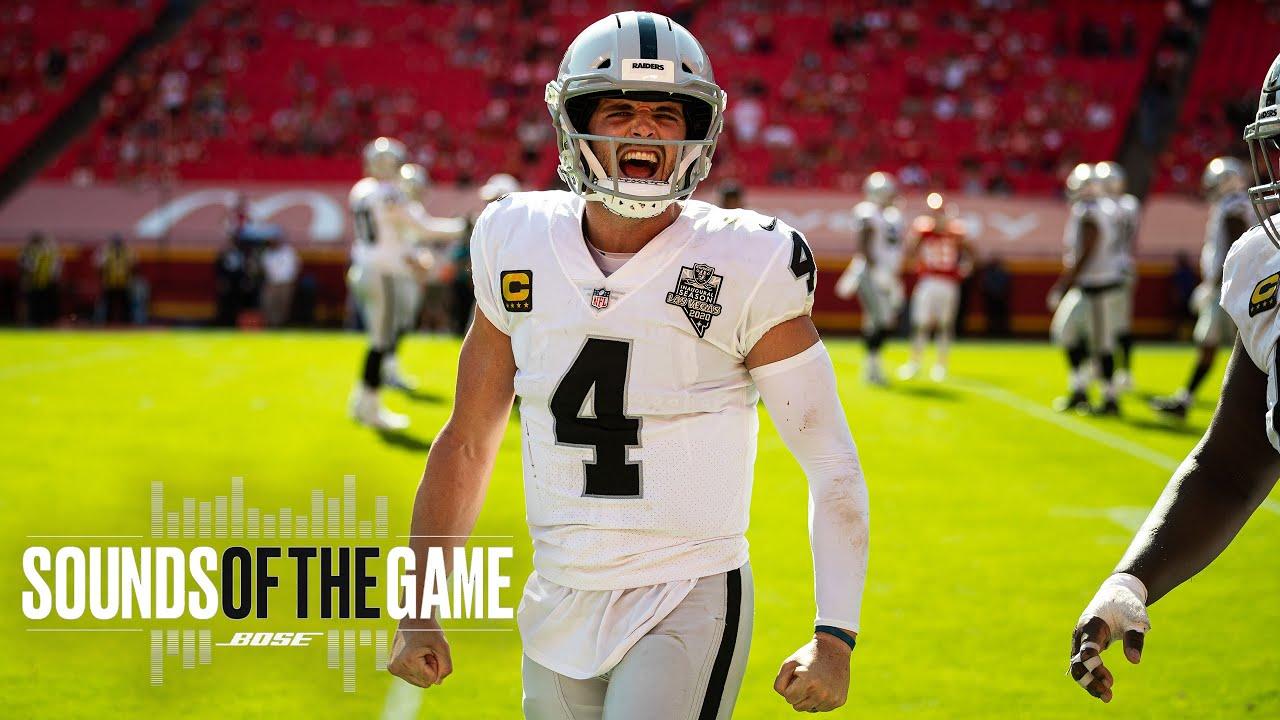 Raiders Monumental Week 5 Victory vs. Chiefs at Arrowhead | Sounds of the Game | Las Vegas Raiders