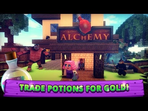 Alchemy Craft: Cooking Witch. Magic Potion Making Android Gameplay