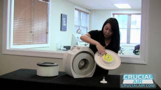 Crucial Air Honeywell 20500 Air Purifier Filter Replacement for 0500 and EV-10