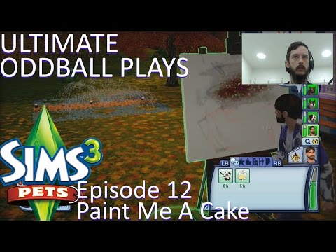 Let's Play The Sims 3 Pets Ep. 12: Paint Me A Cake